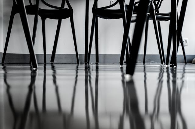 Pdłoga Krzesła